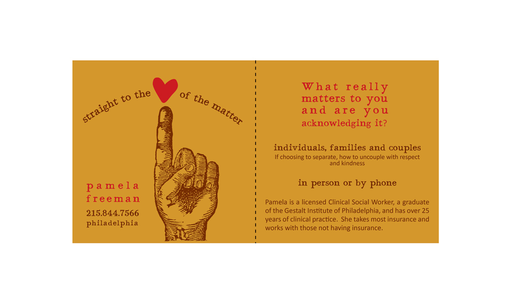Phyllis labanowski communicate front and back of a business card for social worker in philadelphia colourmoves